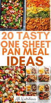 20 tasty ideas of a pan for meals