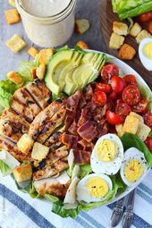 Caesar salad with chicken and avocado Recipe-Butter your cookie