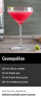Cosmopolitan Cocktail Recipe: A Better Cocktail