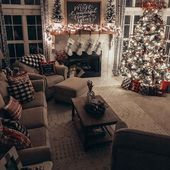 Cozy tour of the Christmas room: beauty for ashes
