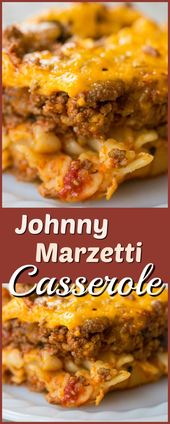 Johnny Marzetti Casserole – (Ground Beef Casserole Recipe) | The Kitchen Magpie