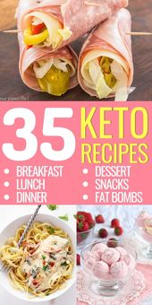 Keto 7-day diet plan: breakfast, lunch, dinner, snacks and fat pumps