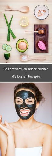 Make facial masks yourself • Quick recipes