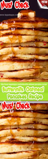 Recipe for oatmeal pancakes with butter. INGREDIENTS 3 …