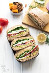 Rosemary Chickpea Salad Sandwich – Vegan Yack Attack