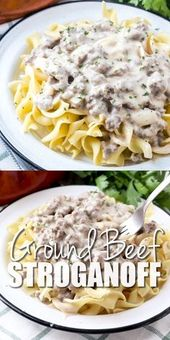 STROGANOFF DE MOLIDA MEAT (+ Video)