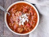 This Paleo Chili does not contain beans, it is approved by Whole30 …
