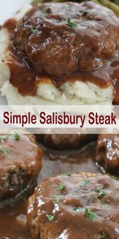 This simple Salisbury steak will make a …